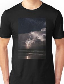 Lightning at Night Unisex T-Shirt