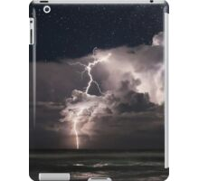 Lightning at Night iPad Case/Skin