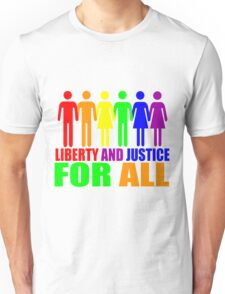 LIBERTY AND JUSTICE FOR ALL Unisex T-Shirt