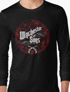 Winchester & Sons (Red Sigil) Long Sleeve T-Shirt