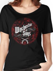 Winchester & Sons (Red Sigil) Women's Relaxed Fit T-Shirt