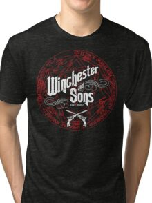 Winchester & Sons (Red Sigil) Tri-blend T-Shirt