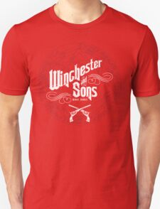 Winchester & Sons (Red Sigil) Unisex T-Shirt