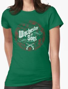Winchester & Sons (Red Sigil) Womens Fitted T-Shirt