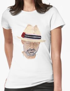 Gord Downie Portrait Womens Fitted T-Shirt