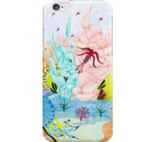 Ocean Floor of Life iPhone Case/Skin