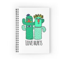 Love Hurts  Spiral Notebook