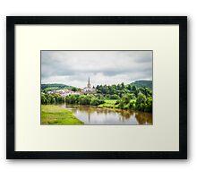 Ross-on-Wye Framed Print