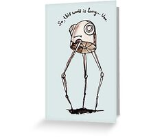 funny world Greeting Card