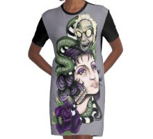 Daylight Come Graphic T-Shirt Dress