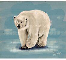 The Polar Bear Photographic Print