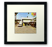 Dirty Deeds Done Dirt Cheap Framed Print