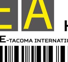 Destination Seattle Airport Sticker
