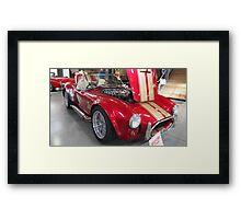AC Cobra (Replica) Framed Print