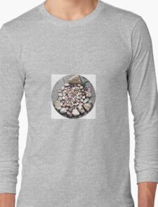 Pretty Stone Circle 2 Long Sleeve T-Shirt