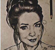Zoella portrait by Susanna Olmi