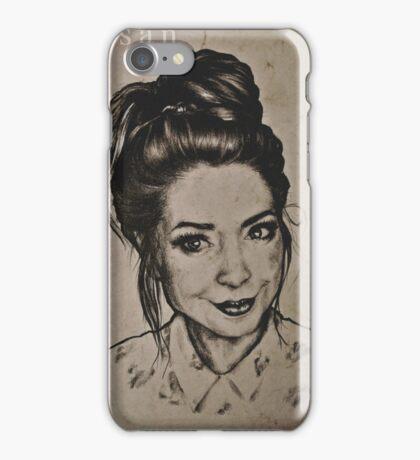 Zoella portrait iPhone Case/Skin