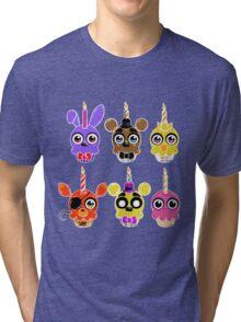 FNAF Cupcakes (6) Tri-blend T-Shirt