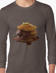 Bacon Pancakes Long Sleeve T-Shirt