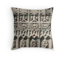 Granite Facade  Throw Pillow