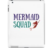 Mermaid Squad iPad Case/Skin
