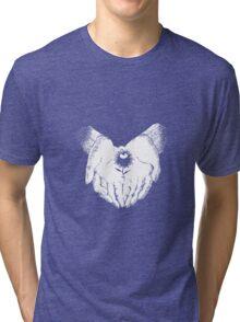 Aku No Hana Flower Symbol Tri-blend T-Shirt
