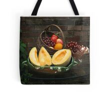Antique Basket of Fruit Tote Bag