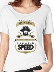 Admiral Kunkka Dota 2 Women's Relaxed Fit T-Shirt
