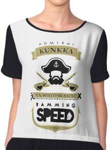 Admiral Kunkka Dota 2 Chiffon Top