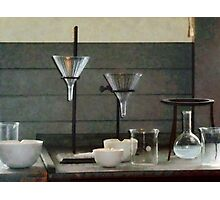 Funnels, Flasks and Crucibles Photographic Print