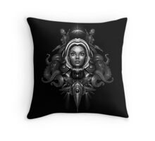 Space Horror 3000 Throw Pillow