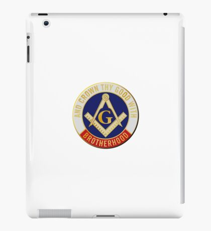 Crown Thy Good With Brotherhood iPad Case/Skin