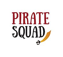Pirate Squad Photographic Print