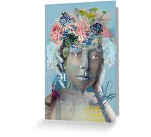 The Blue Effect Greeting Card