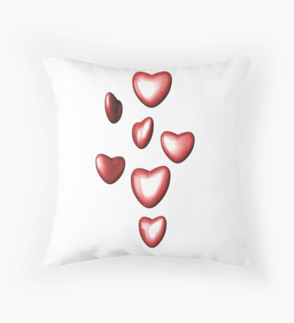 Unbreakable hearts Throw Pillow