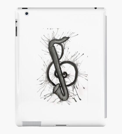 Bass Clarinet Treble Clef iPad Case/Skin