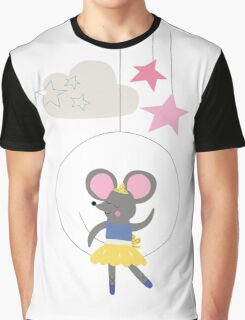 Ballerina Mouse Graphic T-Shirt