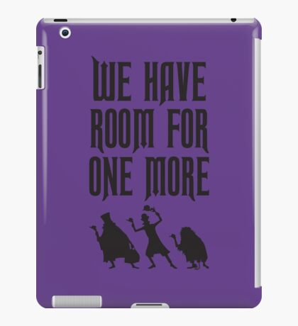 Room For One More iPad Case/Skin