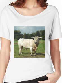 Harry the happy white bull Women's Relaxed Fit T-Shirt