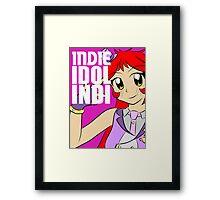 Cafe INDIE - Idol (big) Framed Print