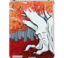 Weirwood tree in the Godswood iPad Case/Skin