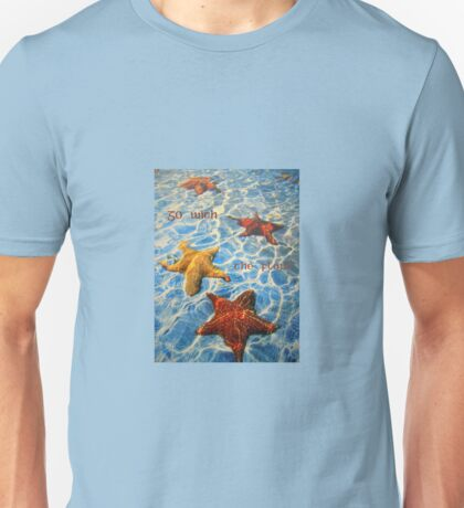 "Go with the flow featured in ""At Sea"" & ""Striking Shells"" Unisex T-Shirt"