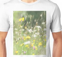 Summer meadow adaped for duvet covers Unisex T-Shirt