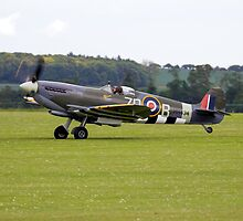 Spitfire Mk IXB by James Biggadike