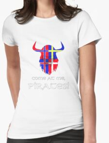 Vikings, assemble! Womens Fitted T-Shirt