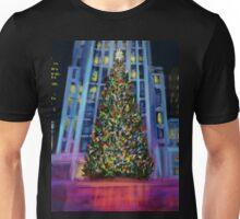 Christmas in Manhattan DP150902b Unisex T-Shirt