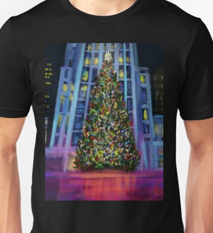 Christmas in Manhattan DP150902b Unisex T-Shirt