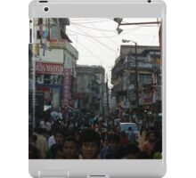 Crowded People, never to miss... iPad Case/Skin