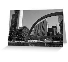 City Hall Toronto Greeting Card