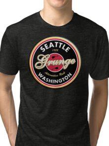 Grunge Seattle Washington Tri-blend T-Shirt